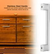 TOPINCN 20Pcs/Set 12mm Stainless Steel Handle Brushed Home Kitchen Doors Cabinet Drawer Handles,Pull Handle,Door Pull Handle