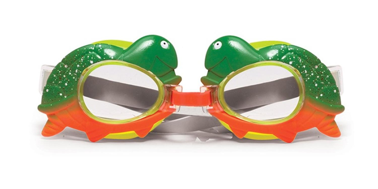 Turtle Animal Frame Swimming Pool Goggles for Children by Swim Central