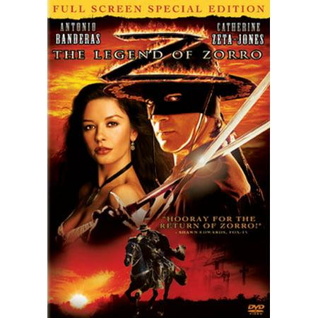 The Legend of Zorro (DVD)](Zorro Catherine Zeta Jones)