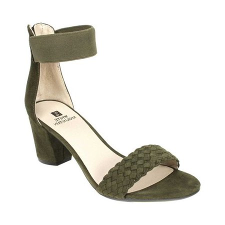 White Mountain Eryn Ankle Strap Sandal (Women's) SpyIi