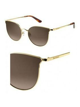 Sunglasses Juicy Couture Ju 597 /S 03YG Lgh Gold / HA brown gradient lens