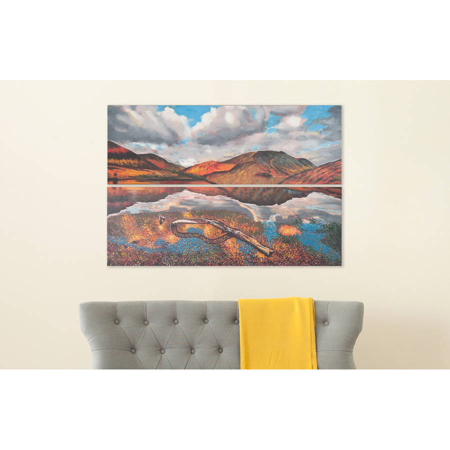 Safavieh Painted Desert Diptych Wall Art, Assorted