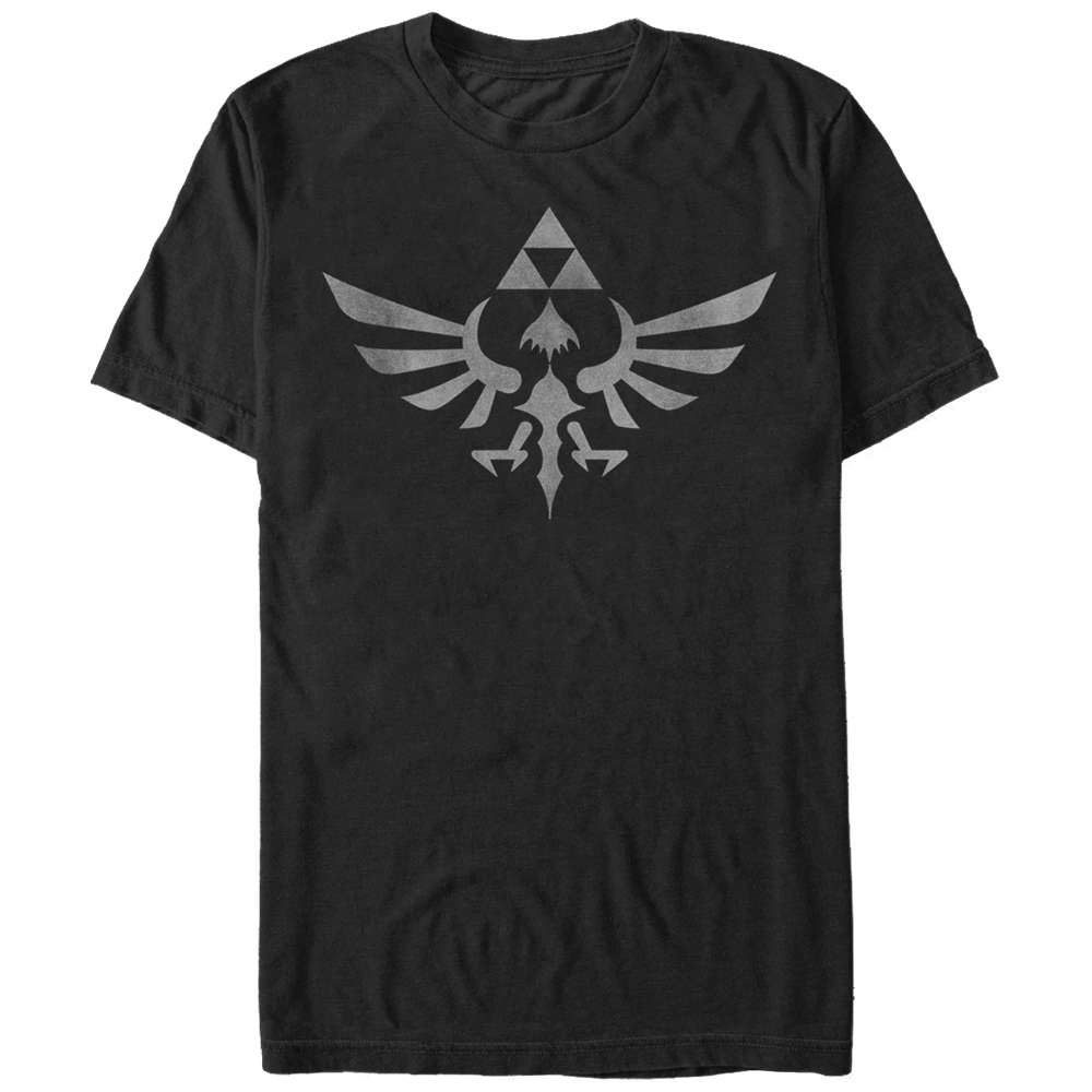 Nintendo Skyworn T-shirt Fifth Sun Black Adult Unisex 100% Cotton Short Sleeve