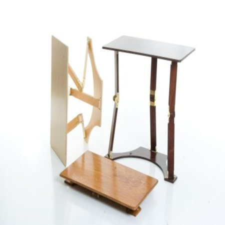 Spiderlegs Light Walnut/Oak Color Wooden Folding Laptop Desk/Tray Table - image 1 of 1