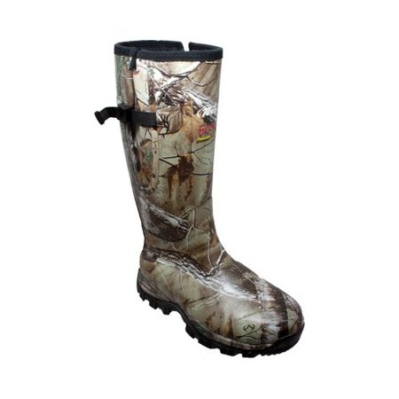 Mens 9734 17 Rubber Side Zip Hunting Boot