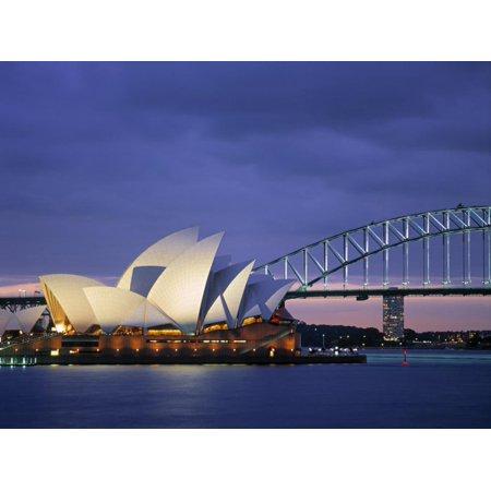 Opera House, Sydney, Nsw, Australia Print Wall Art By Walter Bibikow