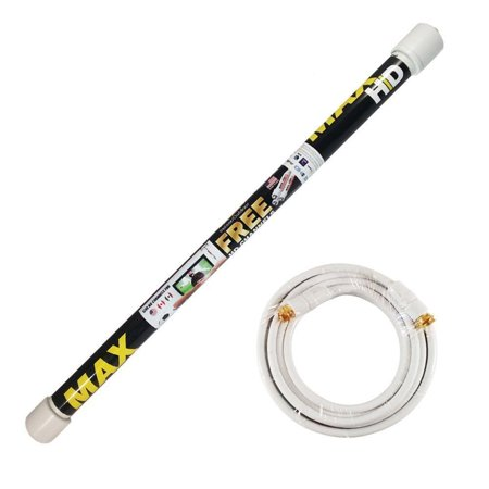 Magic Stick TV MAX HD Antenna Indoor/Outdoor HDTV Digital Channels with 18ft Cable ()
