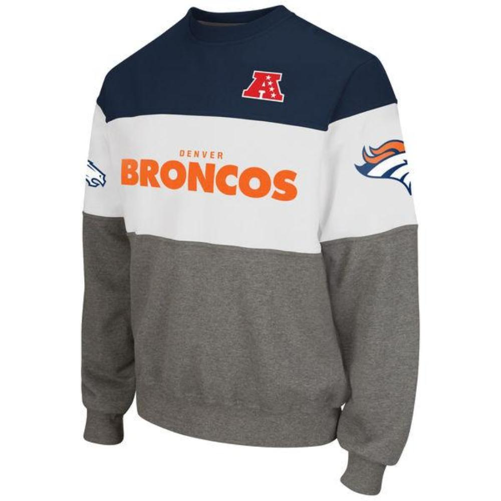Denver Broncos Era Crew Fleece Sweatshirt