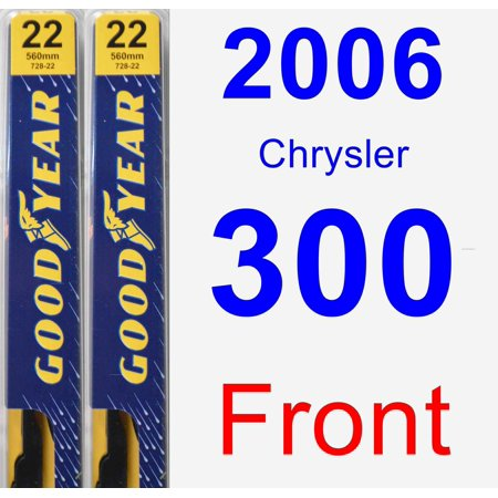 - 2006 Chrysler 300 Wiper Blade Set/Kit (Front) (2 Blades) - Premium
