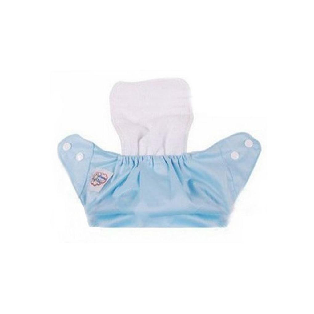 Pretty Blue Unicorns Modern Cloth Reusable Washable Baby Nappy Diaper /& Insert