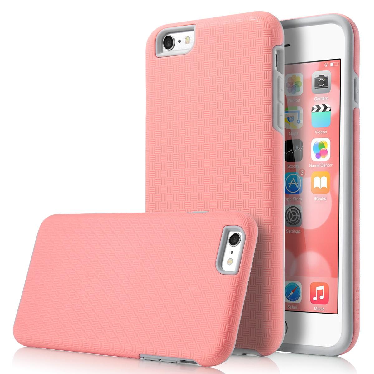sale retailer 26ec3 18bec iPhone 6s Plus Case, iPhone 6 Plus Case, ULAK Slim Protective Shock  Absorbent TPU Bumper Hard Cover for Apple iPhone 6 Plus /6s Plus 5.5 inch,  Light ...