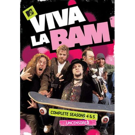 Viva La Bam: Complete Seasons 4 & 5 Uncensored (DVD)](Bam Bam Off The Flintstones)