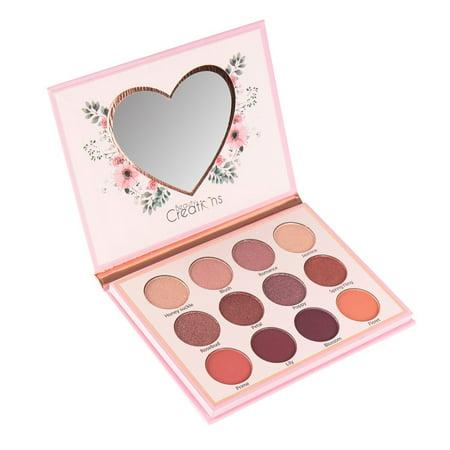 Beauty Creations Eye Bloom Eyeshadow Palette Spring Shades Matte Shimmer Glitter Maquillaje (Maquillaje Halloween Cara)