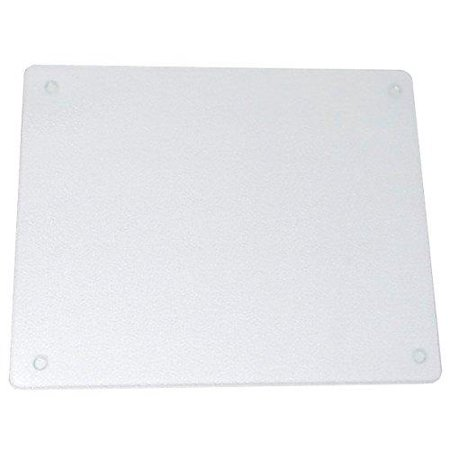 surface saver vance 20 x 16 inch clear tempered glass cutting board, 82016c, 20 x 16-inch ()