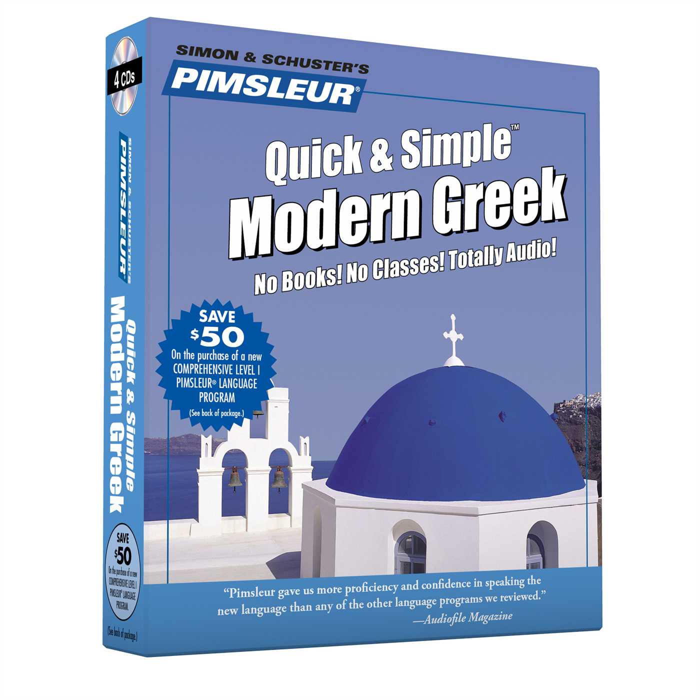 Pimsleur Greek (Modern) Quick & Simple Course - Level 1 Lessons 1-8 CD : Learn to Speak and Understand Modern Greek with Pimsleur Language Programs