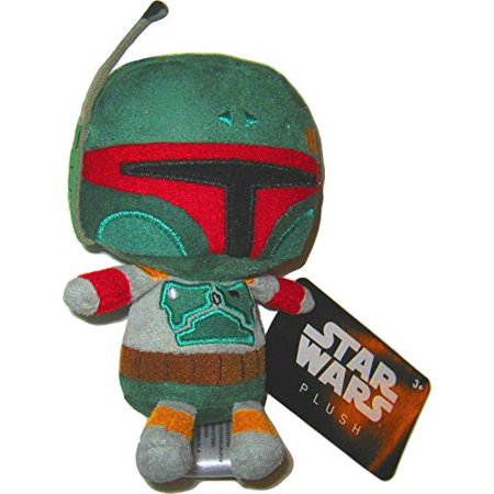 Star Wars Smuggler's Bounty Exclusive Boba Fett 6-Inch Funko Plush Plush Toy … - image 1 of 1
