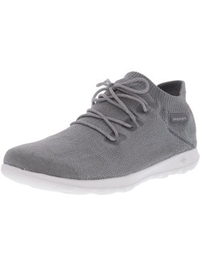2ec0311c33c995 Product Image Skechers Women s Go Walk Lite - Rise Gray Ankle-High Walking  Shoe 9M