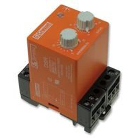 1 Spdt Relay (Voltage Monitoring Relay, SR Series, SPDT, 10 A, DIN Rail, Panel, 250 VAC, Quick Connect)