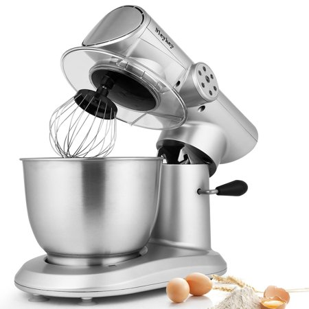 Stainless Steel Stand Mixer 6 Sd 120v 650w Electric Up Cake Baking Mixture