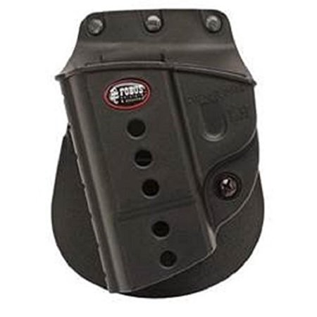 Evolution E2 Paddle Holster Fits S&W M&P 9mm/40/45 Full Size & Compact, M&P 2.0 9mm/40/45, SDVE9, SDVE40, M&P 22 Compact Left Hand, Maintenance Free - No need.., By Fobus