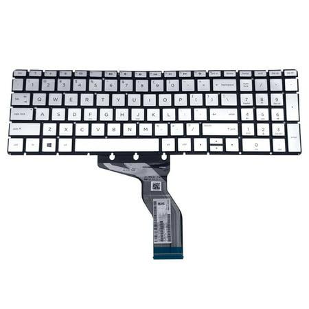 HPM16M63US6920 920018-001 HP Pavilion 15-C 15T-CC 15Z-CD Series English Silver Laptop Keyboard Laptop