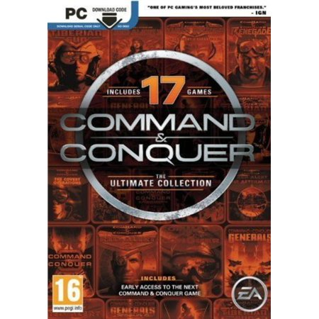 - Command & Conquer The Ultimate Collection (17 Games)