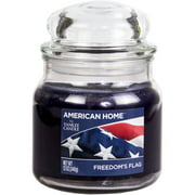 American Home by Yankee Candle Freedom's Flag, 12 oz Medium Jar Candle