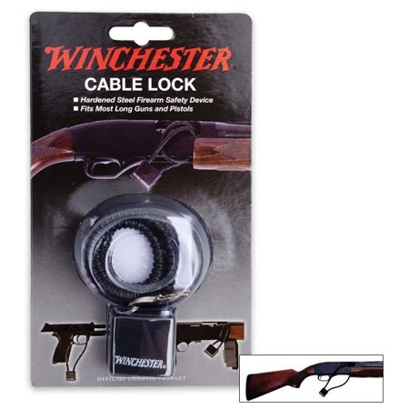 "Winchester 15"" Hardened Steel Cable Lock"