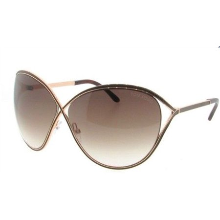 fcf5c1347eada Authentic Tom Ford Sunglasses Sienna FT TF178 48F Gold Frames Brown Lens  63MM