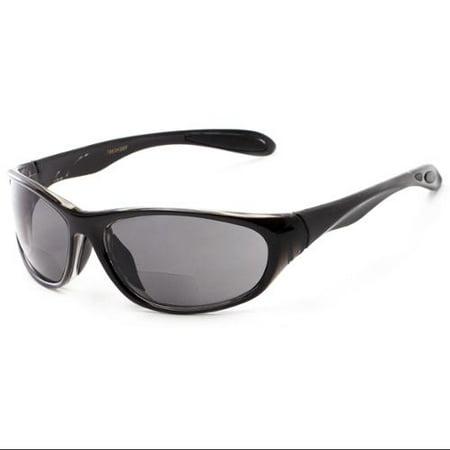 Readers.com Sun Reader: The Zeek Bifocal Reading Sunglasses Plastic Sport & Wrap-Around (Sunglasses That Are Reading Glasses)
