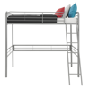 DHP Twin Metal Loft Bed, Multiple Colors and Sizes