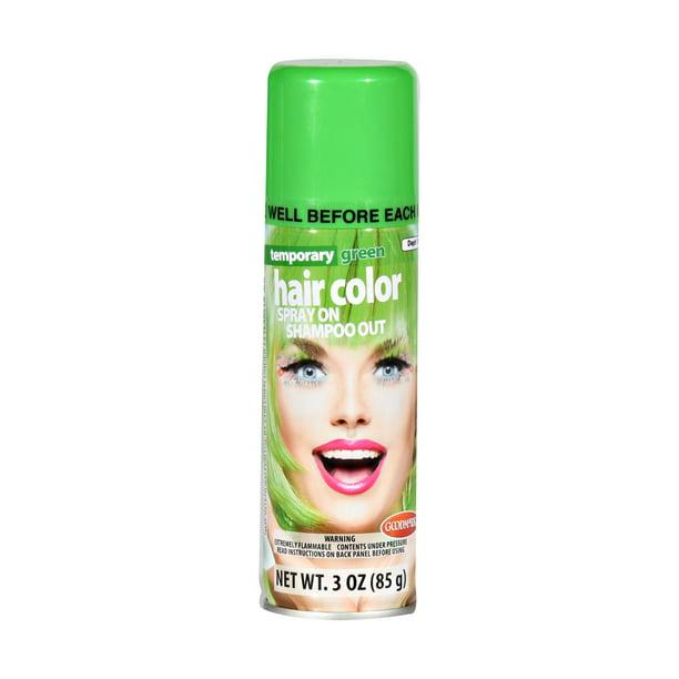 Halloween Temporary Hair Color Spray Green Walmart Com Walmart Com