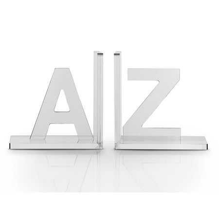 Heritage Bookend (Vandue OnDisplay Luxe Crystal Acrylic Bookends A to Z )
