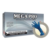 Micro Flex L85-XL Mega Pro- Xlargeheavy Duty Latex Gloves