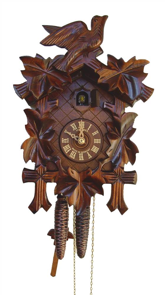 1-Day Black Forest Traditional Cuckoo Clock by Schneider Cuckoo Clocks