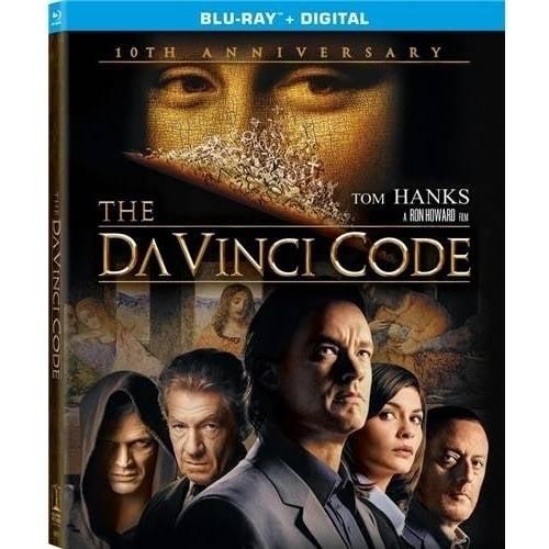 The Da Vinci Code (10th Anniversary Edition) (2-Disc Blu-ray + Digital HD)