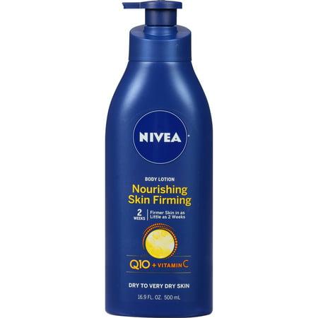 NIVEA Nourishing Skin Firming Body Lotion w/ Q10 and Vitamin C, 16.9 Fl. Oz. ()