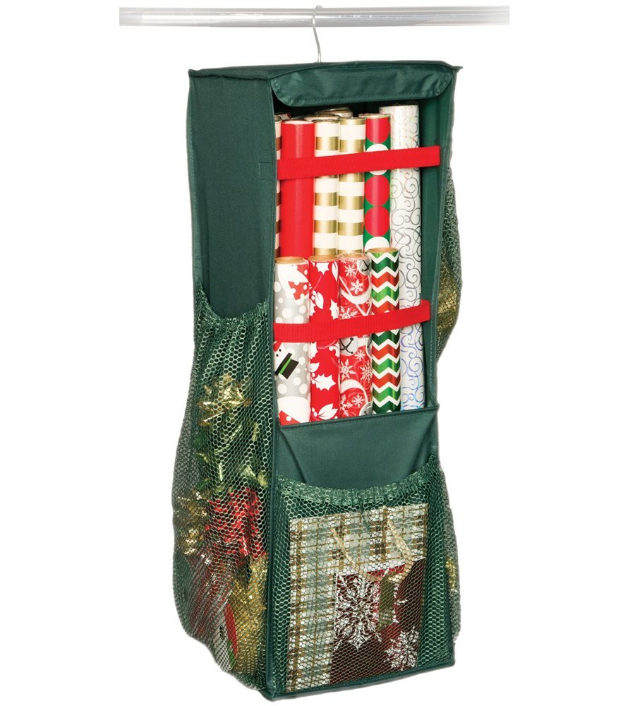 Richards Homewares Holiday Revolving Giftwrap Organizer
