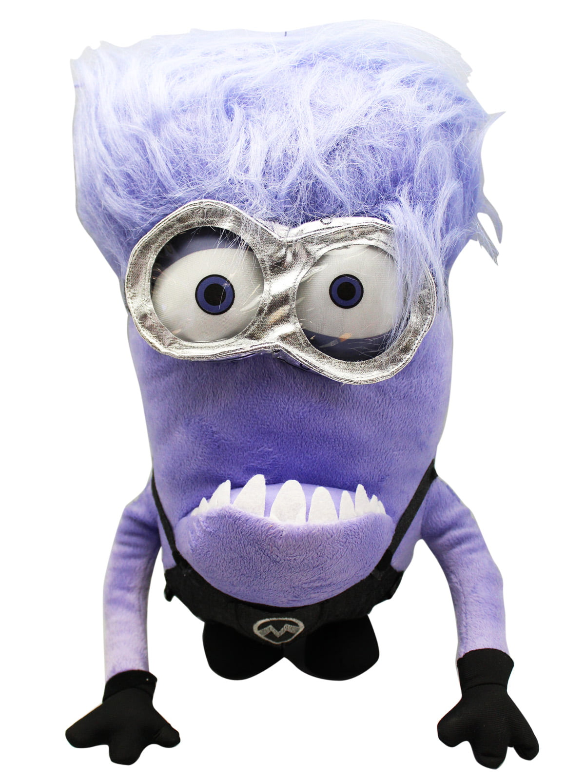 Despicable Me 2 Evil Minion Plush toy With Secret Zipper Pocket (15in) by