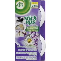 Air Wick Stick Ups Air Freshener, Lavender and Chamomile, 2 Count