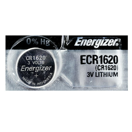 Energizer CR1620 3V Lithium Coin Battery - 5 Pack + FREE SHIPPING!