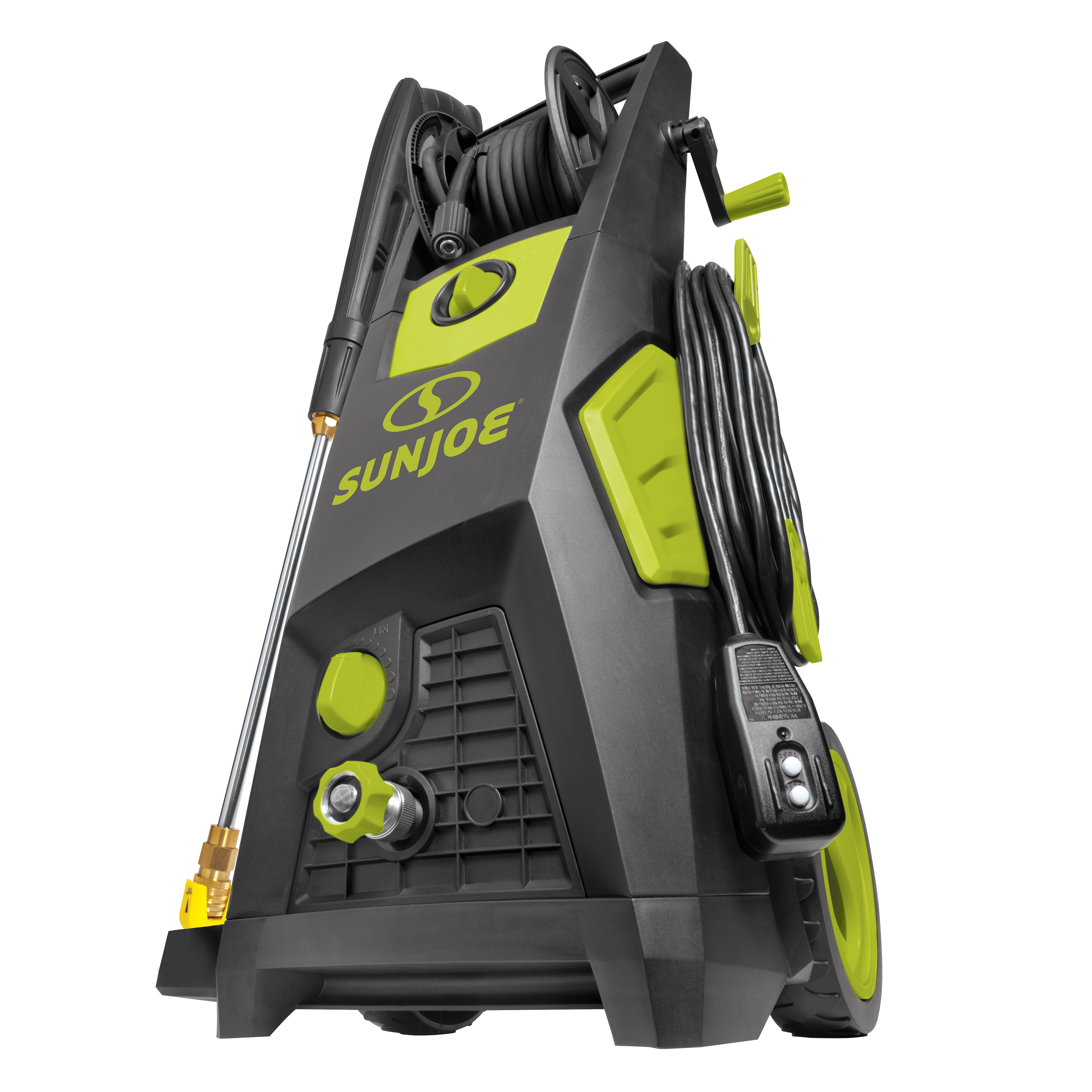Sun Joe SPX3501 Brushless Induction Electric Pressure Washer | 2300-PSI MAX | 1.48 GPM | Hose Reel
