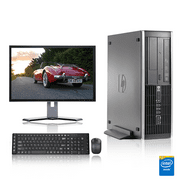 "HP DC Desktop Computer 3.0 GHz Core 2 Duo Tower PC, 6GB, 500 GB HDD, Windows 7 x64, 19"" Monitor , USB Mouse & Keyboard (Refurbished)"