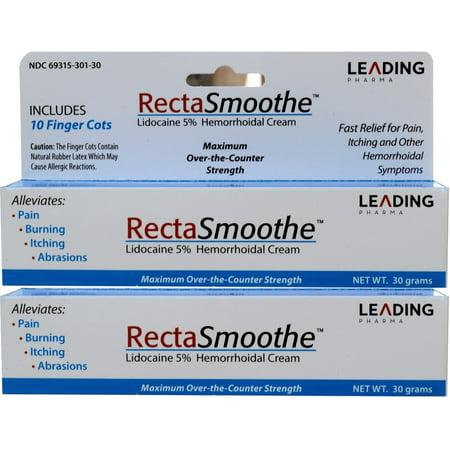 RectaSmoothe Lidocaïne 5% Crème