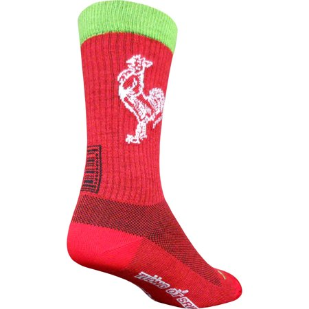 SockGuy Sriracha Wool 7.5
