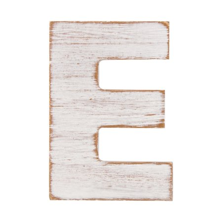 On the Surface Rustic Letter E, 1 Each