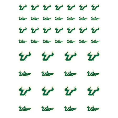 South Florida Bulls Small Sticker Sheet - 2 Sheets