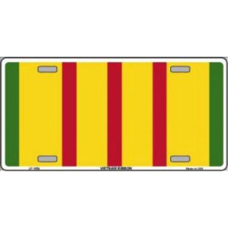 Vietnam Ribbon Metal License Plate