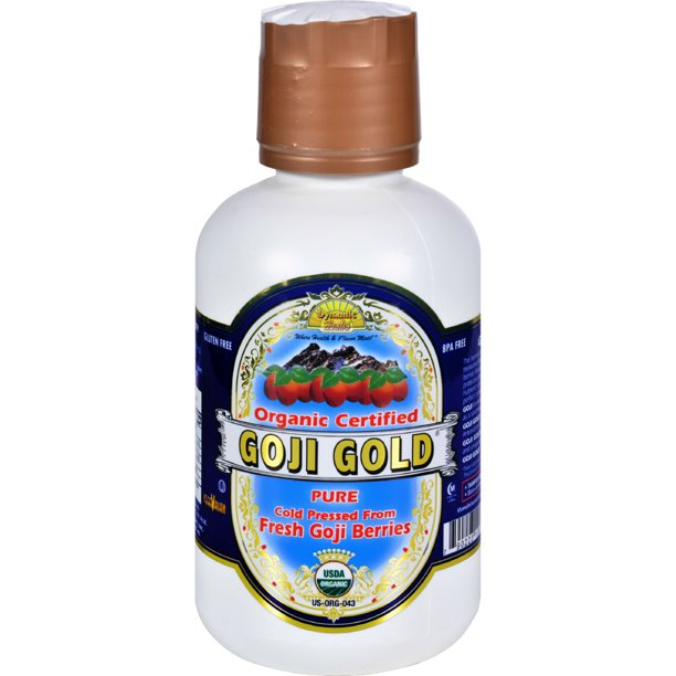 Dynamic Health Organic Certified Goji Berry Gold Juice 16 Fl Oz