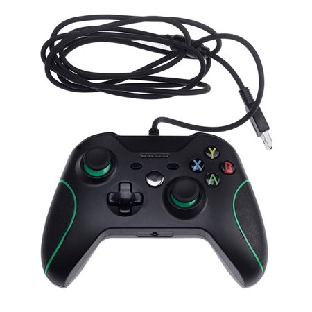Maraso For XBOX One PC Windows USB Wired Controller Gamepad Dual Vibration 3.5mm
